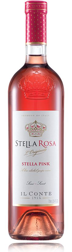 Stella Rosa Pink, the flirt of the bunch!  Fresh, playful, exuberant with fresh…