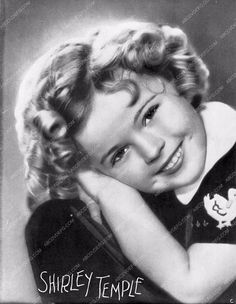 Shirley Temple portrait 563-10