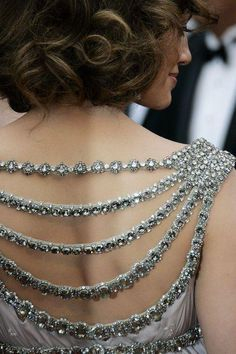 exquisite back detail