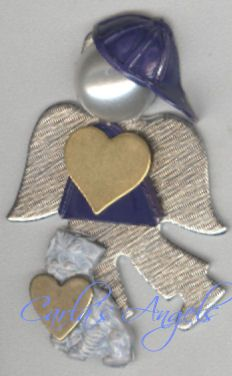 Mitchell, Boy Angel Pin - $16.95