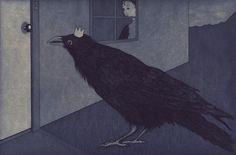 Audrey Niffenegger - Raven Girl, 2012 « Mr. Deaths Ephemeral Pageant