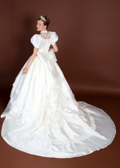スノーホワイト | ウエディングドレスの格安オーダー販売 | ☆天使の工房アトリエアンatelier ange