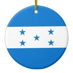 Shop Honduras Flag Ceramic Ornament created by wowsmiley. Honduras Flag, National Flag, Holiday Traditions, Baby Boy Shower, Art For Kids, Art Pieces, Ceramics, Christmas Ornaments, Flags