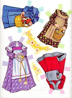 holly hobbie paper dolls | And a warm coat; it may be a gray day, but baby it's cooold outside!