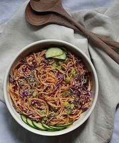 Sesame Noodles 2.0 | Llbalanced.com | Bloglovin'