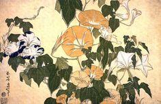 Artimañas: HOKUSAI (1760 - 1849) - Pintor japonés - Acuarela - Dibujo