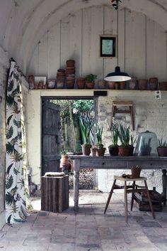 Luxury Garden and Potting Sheds barefootstyling.com