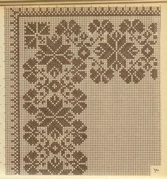 This Pin was discovered by Şen Xmas Cross Stitch, Cross Stitch Borders, Cross Stitch Flowers, Cross Stitch Charts, Cross Stitch Embroidery, Cross Stitch Patterns, Blackwork Patterns, Embroidery Patterns, Cross Designs