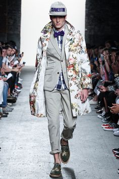 FAB COAT - Mark McNairy New Amsterdam Spring 2014 Ready-to-Wear Collection Slideshow on Style.com