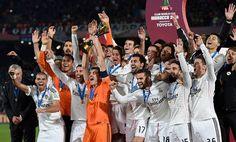 Celebración, Campeón Mundial de Clubes, Marruecos 2014.