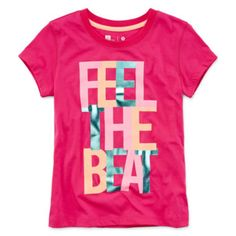 Xersion™ Short-Sleeve Graphic Knit Tee - Girls 7-16 and Plus  found at @JCPenney