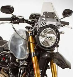 Harley-Davidson Sportster modified for trail riding