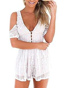 Simplee Apparel Womens Sleeveless Playsuit. * See this great product. (This  is an