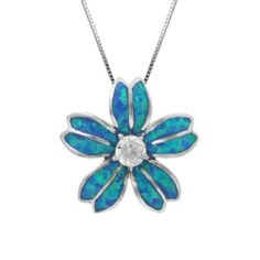 Sterling Silver Blue Opal Plumeria Necklace Pendant and Box Chain, http://www.amazon.com/dp/B00I534JQ0/ref=cm_sw_r_pi_awdm_5VHltb07645S1