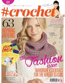 Subscribe to #crochet magasine here!