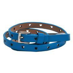 LuLu Juniors Heart Cutout Skinny Belt #VonMaur