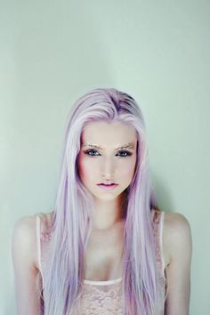 Fun fact: I have purple hair (lilac if you will... though right now it's a Jacaranda Purple)