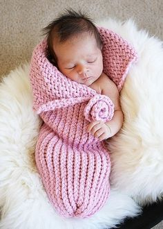 Knit Photography Prop Baby Cocoon by simplybasicdesigns on Etsy, $40.00