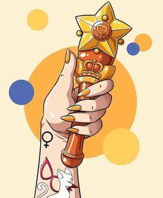 Sailor Moon Drops, Sailor Moon Girls, Sailor Moom, Arte Sailor Moon, Sailor Moon Manga, Sailor Saturn, Sailor Venus, Sailor Scouts, Venus Tattoo