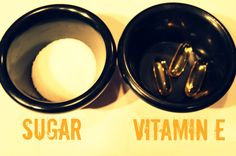 E l l e S e e s: Beauty DIY: Vitamin E Sugar Scrub. I've got to try this!