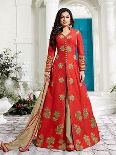 SBTrendZ LTB Suit for 1800.00  shipping  On High Demand Of Customers again we are launching this series. Fabric details Top - Silk  Bottom -  Santoon Dupatta - Nazmin singles and multiples avl Ready to ship  For more details and to order Whatsapp 91 9495188412; or mail us on sbtrendz@gmail.com. Visit us on http://ift.tt/1pWe0HD or http://ift.tt/1NbeyrT to see more ethnic collections.   #SalwarSuit #Jacket #Lehenga #Gown #Kurti  #Saree #ChiffonSaree #salwarkameez #GeorgetteSuit #designergown…