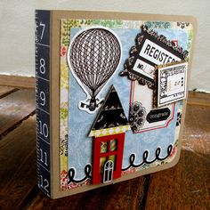 PaperVine: Travel Cardset with Echo Park - For the Record