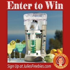 Win a Margaritaville Frozen Drink Maker!