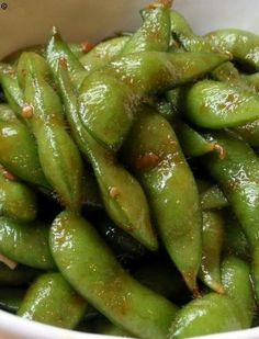 Garlic Teriyaki Edamame. With a Delicious Low Carb Recipe Like This,  Dieting Will be Easy!