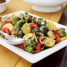 Brussels Sprouts and Squash Sauté