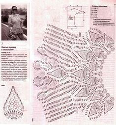 Fada do Crochet: BLUSA AMARELA .... PARA ILUMINAR SUA VIDA