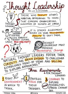 How to Build Real Thought Leadership: Insights by Dr. Liz Alexander – By Tanmay Vora