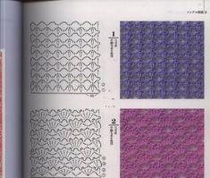 200 Muestras de puntos en crochet Afghan Crochet Patterns, Crochet Chart, Crochet Motif, Crochet Stitches, Knitting, Sewing, Elsa, Hairpin Lace Crochet, Crochet Stitches Patterns