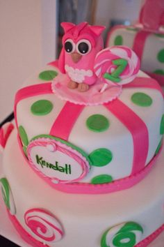 Kendall's birthday Cake by Daniele @ Not Just Cakes