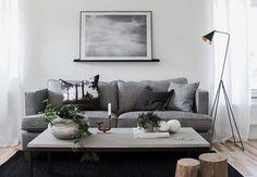 angolo living in stile nordico