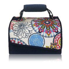 Nuevo Snailbag Mandala 26,95 euros. ¡Comer de tupper está de moda! #Snailbag #lunchbag #tuppertime #moda #chic #handmade #MadeInSpain #ShopOnline  http://www.snailbag.es/shop/anytime-collection/bolsa-porta-alimentos-isotermica-para-tuppers/lunchbag-snailbag-mandala/