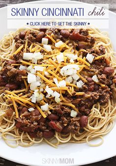 Get your chili fix Cincinnati style!