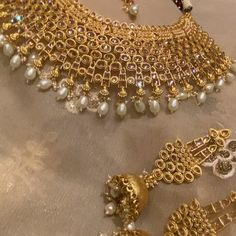 Arabian Gold-Designers Indian Bridal Set in. Special price!! Exclusively available @lebaasonlinestore