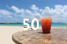 It may seem like a list of 50 beach bars is a lot. But when we finished compiling this momentous list, we weren't even breathing hard. That's because the C