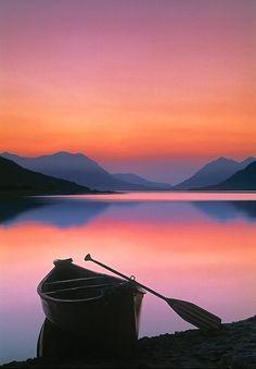 ^Bennet Lake - Yukon, Canada