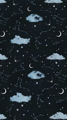 Lock screen wallpaper, galaxy wallpaper iphone, cute i phone wallpaper, simple phone wallpapers Moon And Stars Wallpaper, Night Sky Wallpaper, Star Wallpaper, Tumblr Wallpaper, Screen Wallpaper, Cool Wallpaper, Mobile Wallpaper, Wallpaper Ideas, Witchy Wallpaper