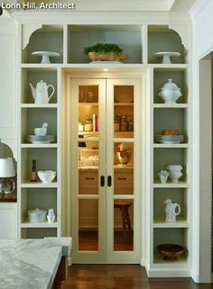 Who said a Doorway or Cabinet System couldn't be Beautiful?  -Houzz.com-