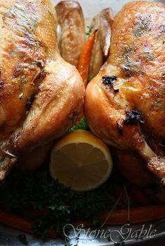 Barefoot Contessa meets StoneGable roast chicken