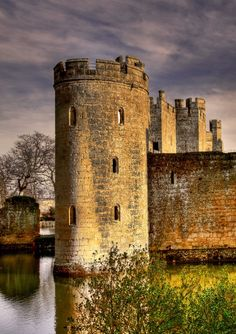 pagewoman:  The Tower at Bodiam Castle, Robertsbridge, East Sussex, England  by Sarah Dawson
