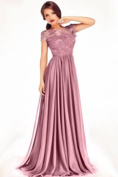 Rochie de seara cu broderie si spatele gol Royal Dresses, Prom Dresses, Mother Of The Bride, Formal, Outfits, Fashion, Vestidos, Party Dress, Tumblr Outfits