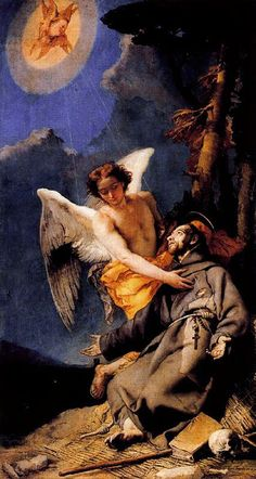 Giovanni Battista Tiepolo (March 5, 1696 – March 27, 1770).  St Francis.  Discover the coolest shows in New York at www.artexperience...