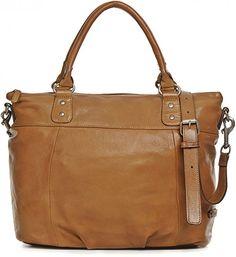 REHARD, Damen Handtaschen, Henkeltaschen, Umhängetaschen, Shopper, Tote-Bag, Cognac, 31 x 43,5 x 16 cm (B x H x T)