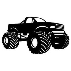 silhouette images monster trucks - Bing Afbeeldingen