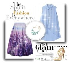 """""""yesstyle contest"""" by deni982 ❤ liked on Polyvore featuring Pour La Victoire, Summer, off and yesstyle"""