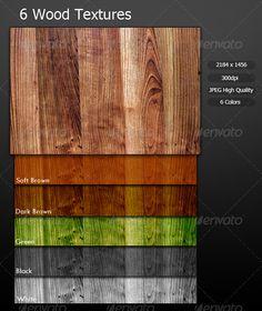 6 Wood Textures