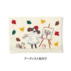 Asociación de lindo 12 meses hechizo de las niñas en el bordado y apliques simples (12 veces colección limitada) | Felissimo